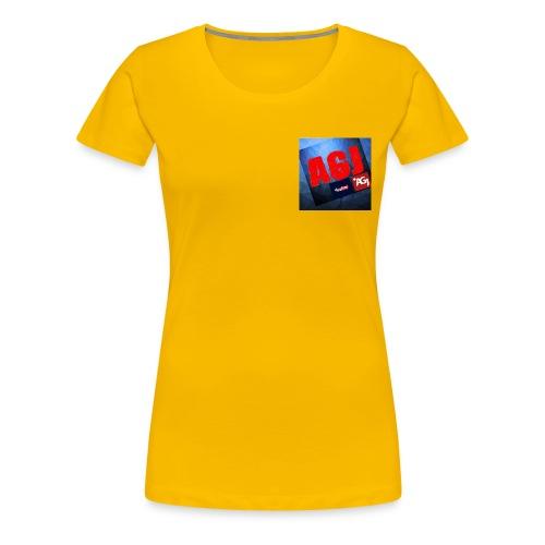 AGJ Nieuw logo design - Vrouwen Premium T-shirt