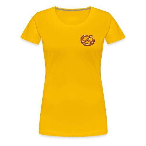 Breze mit Biss - Frauen Premium T-Shirt