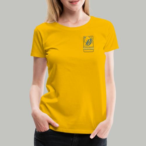 P PLUS TEXT - Frauen Premium T-Shirt