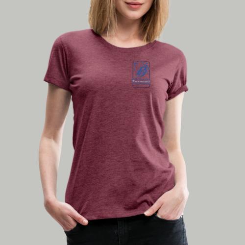 P PLUS TEXT - Frauen Premium T-Shirt