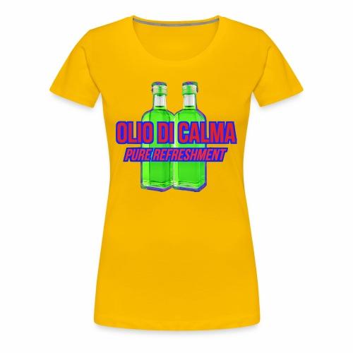 OLIO DI CALMA LINE - Maglietta Premium da donna