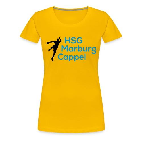 HSG Handballer Blau - Frauen Premium T-Shirt