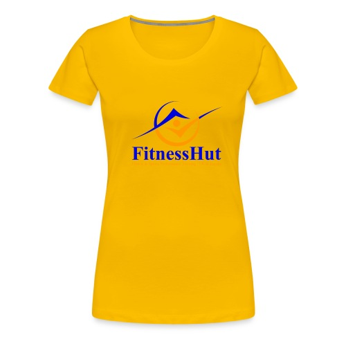 FitnessHutUK Logo Kit - Women's Premium T-Shirt