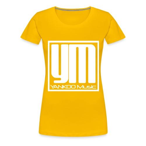 YANKOO Music T-Shirt - Frauen Premium T-Shirt