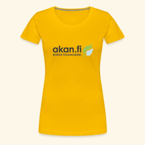 Akan Black - Women's Premium T-Shirt