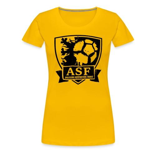 ASF logo witte achtergrond - Vrouwen Premium T-shirt