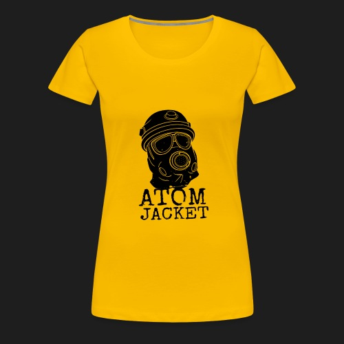 Black - Naisten premium t-paita