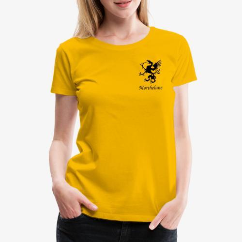 Griffon Morthelune - noir - T-shirt Premium Femme