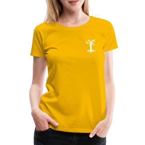 Valkoinen kelopuu - Naisten premium t-paita