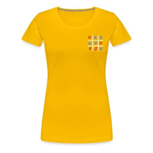 TIC TAC TOE - T-shirt Premium Femme