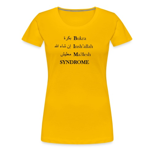 Tomorrow - Women's Premium T-Shirt