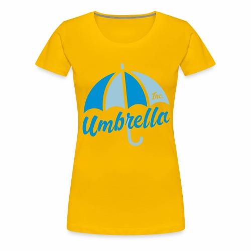 Umbrella Inc. Tipo under logo - Camiseta premium mujer