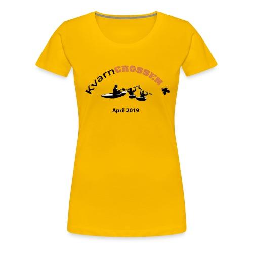 KC2019 - Premium-T-shirt dam