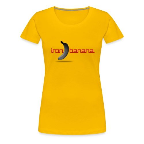 IRON BANANA LOGO - Women's Premium T-Shirt