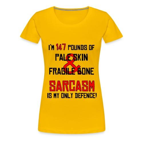Sarcasm 2 - Women's Premium T-Shirt