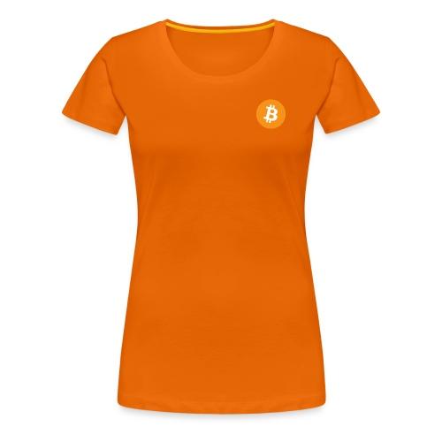 Bitcoin - Women's Premium T-Shirt