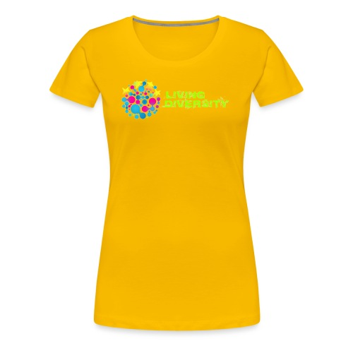 Living Diversity - Women's Premium T-Shirt