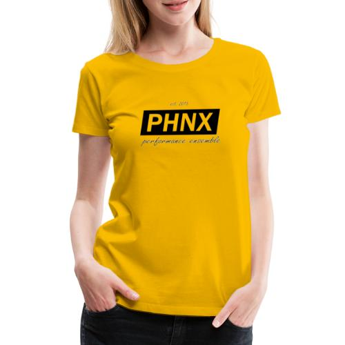 PHNX /#black/ - Frauen Premium T-Shirt