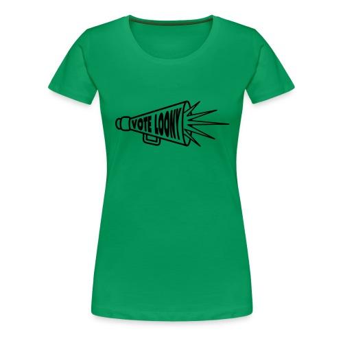 megaphone - Women's Premium T-Shirt
