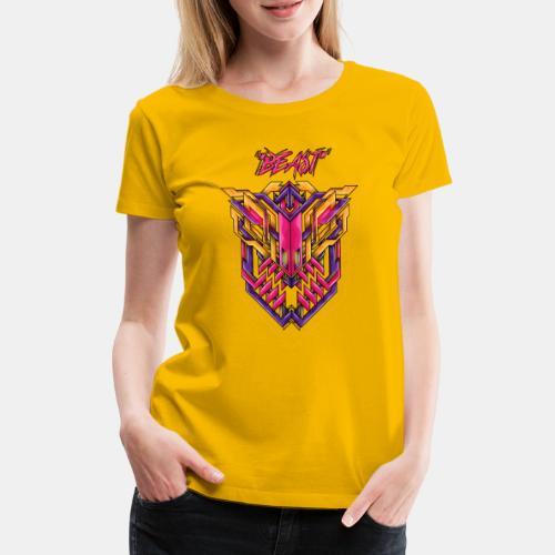 beast - Frauen Premium T-Shirt