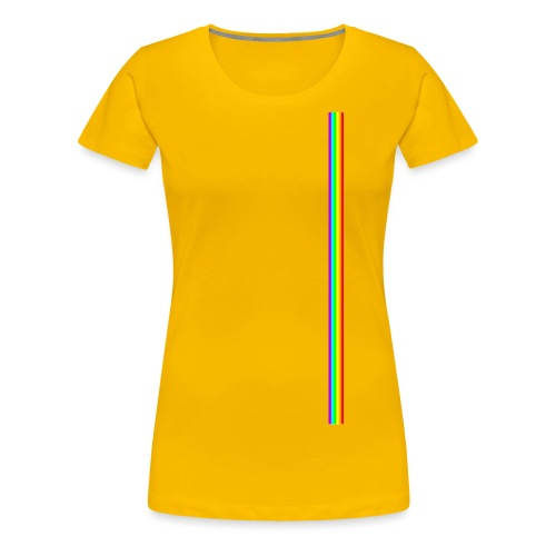 Linea Neon LGBT+ - Camiseta premium mujer