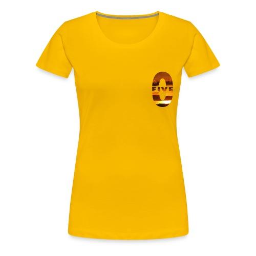 Five0 Sunset - T-shirt Premium Femme