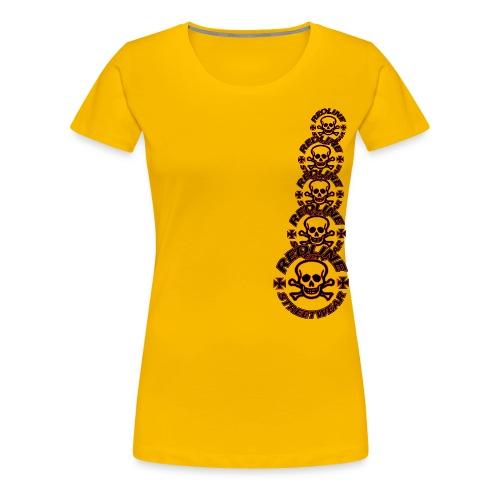 redline streetwear logo2 1 - Premium-T-shirt dam