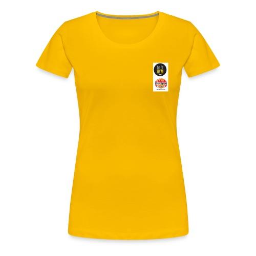 be fit und Citysport Logo - Camiseta premium mujer