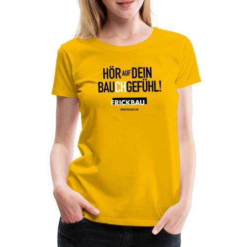 FRICKBAU - Frauen Premium T-Shirt