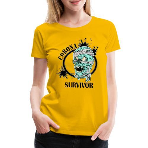 Corona survivor - Premium-T-shirt dam