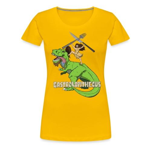 Gastrolopithecus El mundo es un viaje - Camiseta premium mujer
