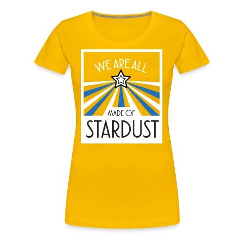 Star Dust - T-shirt Premium Femme