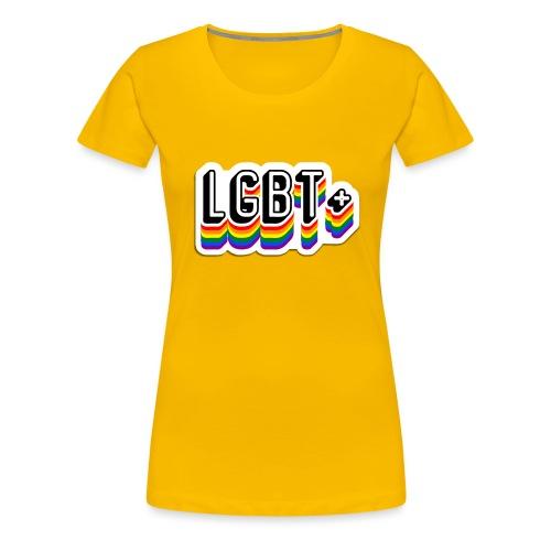 Calcamonia LGBT+ - Camiseta premium mujer