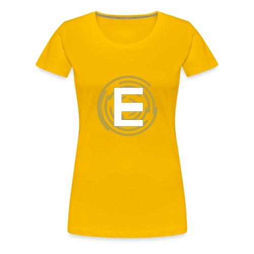 E-Campionato Semplice - Maglietta Premium da donna