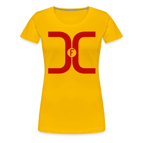 t-shirt_Red_fdc_PNG - Women's Premium T-Shirt