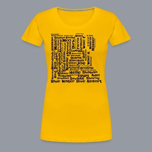 BWDR - Frauen Premium T-Shirt