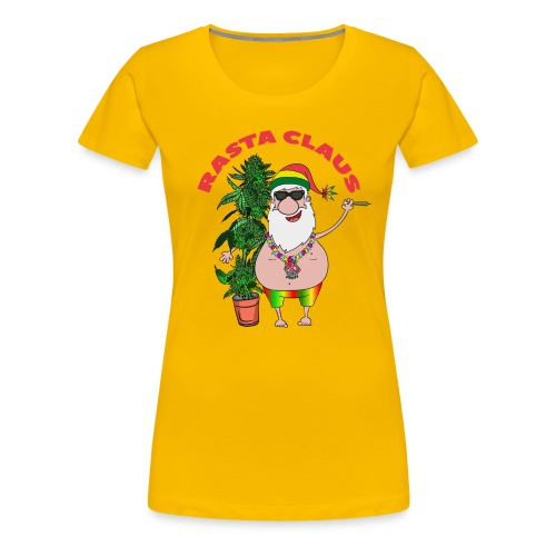 Rasta Claus - Frauen Premium T-Shirt