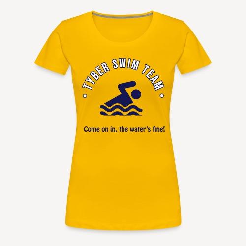 TYBER SWIM TEAM - Women's Premium T-Shirt