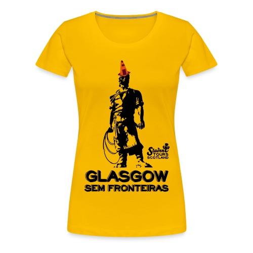 Glasgow Without Borders Brazil Rio Grande do Sul - Women's Premium T-Shirt