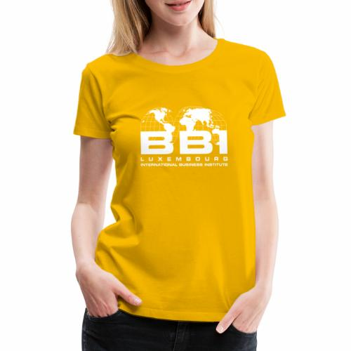 White Logo Collection - Women's Premium T-Shirt