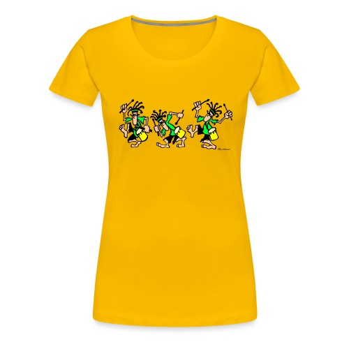 Funky Drummers - Women's Premium T-Shirt