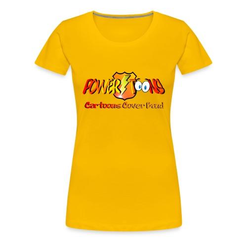 PowertOOns Logo Ufficiale - Maglietta Premium da donna