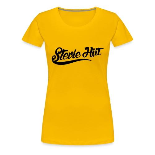 Stevie HIIT Logo - Women's Premium T-Shirt