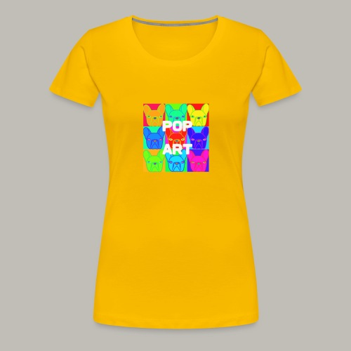 L'art de la Pop - T-shirt Premium Femme