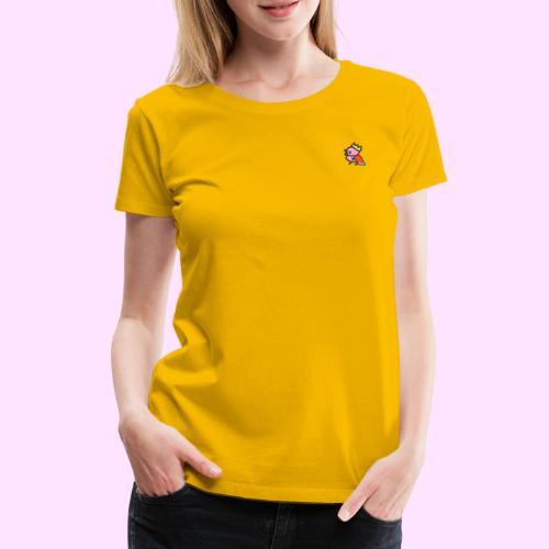 Royal Pinkguin - Dame premium T-shirt