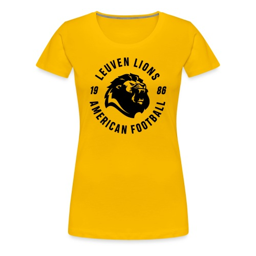 Lions old school black - Women's Premium T-Shirt