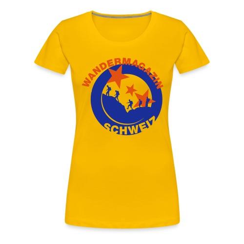 button kleider2 - Frauen Premium T-Shirt