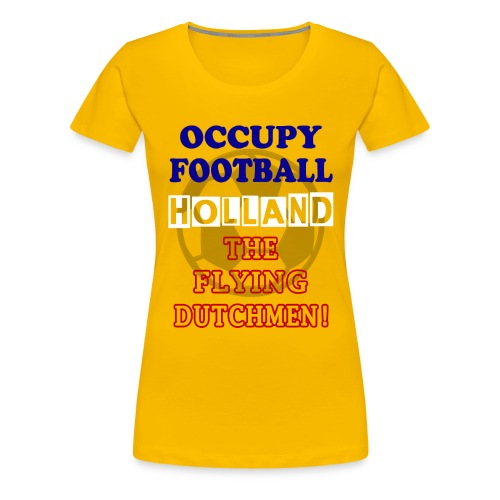 occupy football holland - Women's Premium T-Shirt
