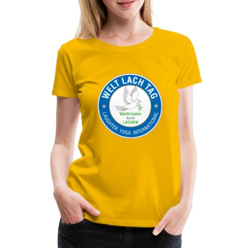 Wlt Logo png - Frauen Premium T-Shirt