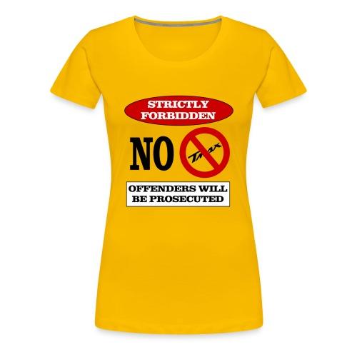 NOTMAX - Maglietta Premium da donna